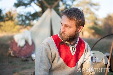natural linen tunic  bordering  sale