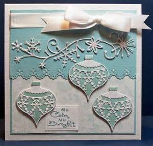 Christmas Cards with Memory Box Dies