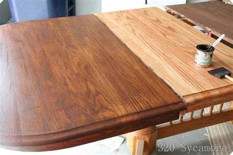 sanding and staining wood table gel stains picmia
