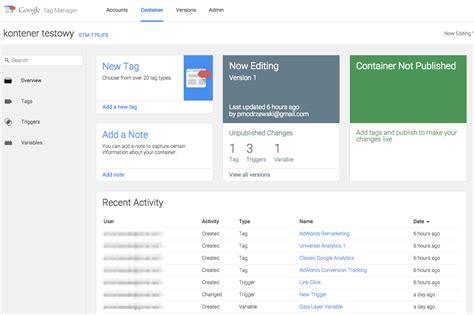 nowy interfejs tag manager szybkie podsumowanie zmian performance marketing z nowy interfejs tag manager szybkie podsumowanie zmian performance marketing z
