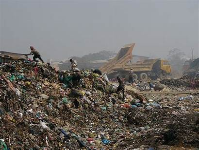 Trash Mountains Phnom Dump Penh Garbage Collectors