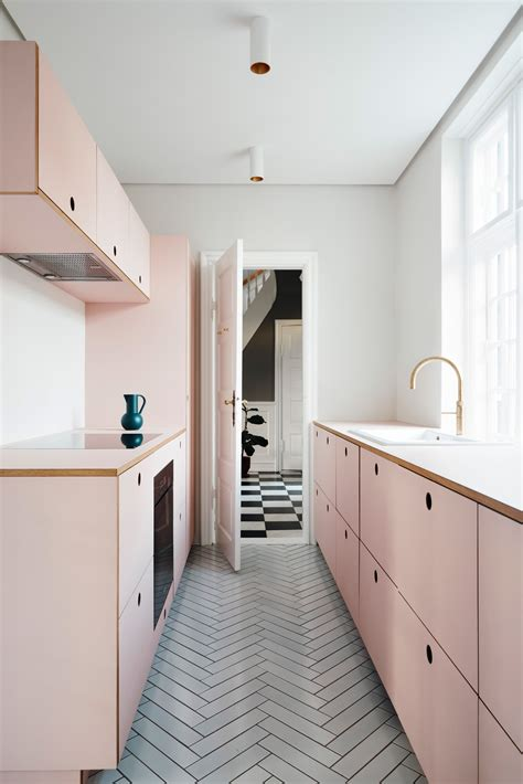 pink kitchen fronts  reform  ikea kitchens