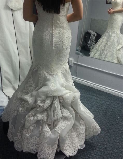 Bustle For A Mermaid Gown Bridal Gown Pinterest The