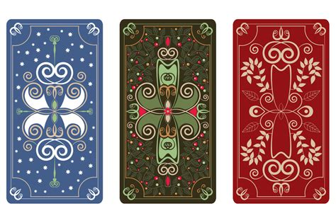 vector ornament  tarot cards illustrations  creative market