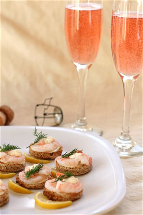 shrimp canapes recipes shrimp canapes a la suede