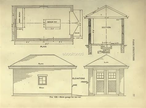 Barn Poultry Farm Building Plans Dairy House Stables Cd