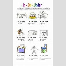 Prepositions On Pinterest  Preposition Activities, Prepositional Phrases And Flashcard