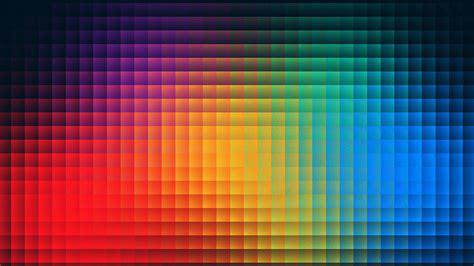 va rainbow pixels pattern papersco