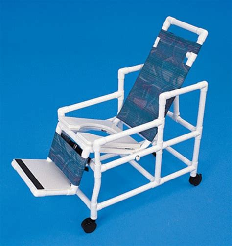 handicap shower chairs pvc reclining shower commode