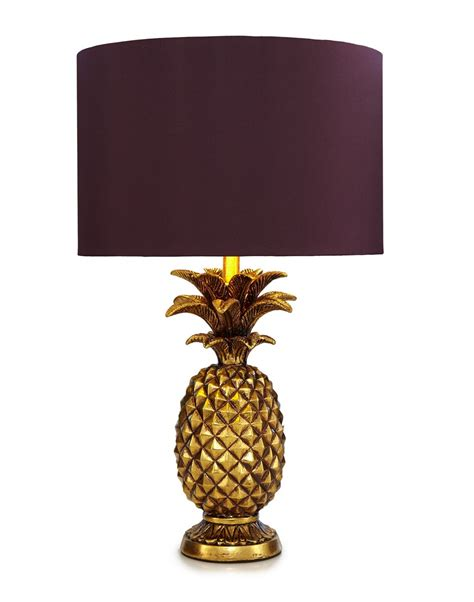 Pineapple Lights by Butterfly Home By Matthew Williamson Gold Pineapple Shaped