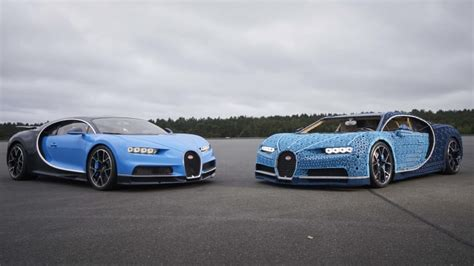 The test drive of the lego chiron took place at the ehra lessien proving grounds in germany. Life-size Lego Technic Bugatti Chiron really drives - Autoblog