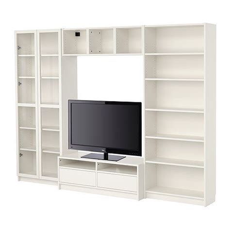 Billy Bookcase Tv Stand by Billy Combinaci 243 N Librer 237 As Con Mueble Tv Ikea My