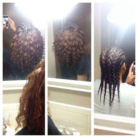 braid      relaxed hair  cantu