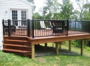 dining room stylish best 10 aluminum deck railing ideas on