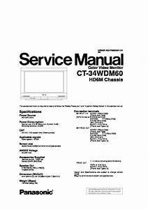 Panasonic Tv Service Manuals