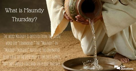 maundy thursday holy thursday