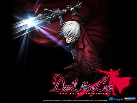 Devil May Cry Anime Images Dante Attacking Hd Wallpaper
