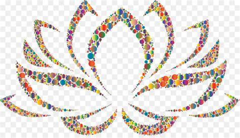 fiore clipart stencil nelumbo nucifera fiore disegno clip fiore di