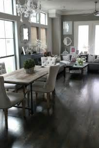 living dining room ideas veronika 39 s blushing rustic contemporary dining living room combination home decoz