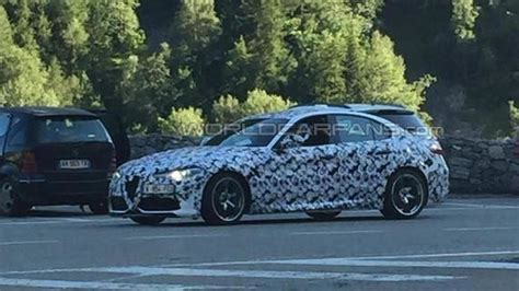 Wcf Reader's Spy Shot Shows Alfa Romeo Isn't Done Testing