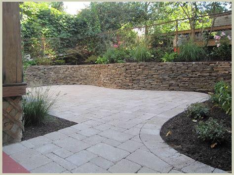 backyard hardscape design hardscape design john s landscaping service company ma