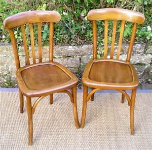 Chaise Bistrot Vintage : chaise bistrot ancienne authentique ~ Teatrodelosmanantiales.com Idées de Décoration
