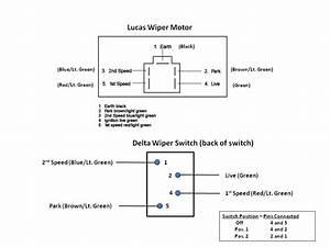 Lucas 14w Wiper Motor Wiring