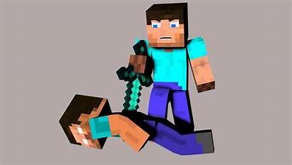 Minecraft Steve Herobrine 3d Kills