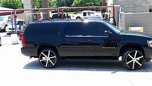 26 U0026quot  On A Blacked Out 2007 Suburban