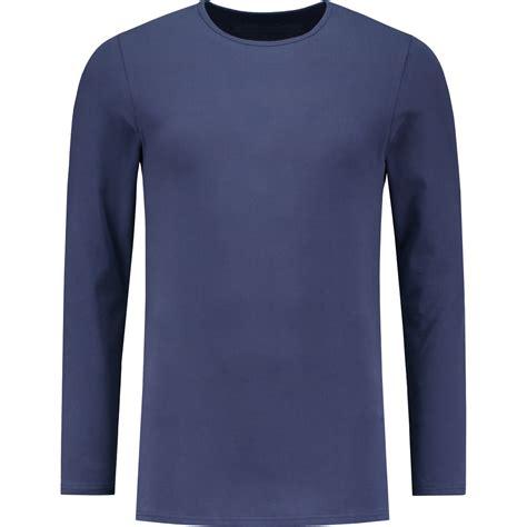 t shirt navy blue crew neck longsleeve t shirt by shirtsofcotton