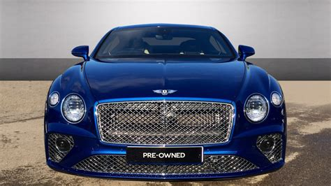 Bentley Used Car Continental Blue