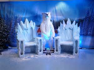 prego events winter wonderland themed event