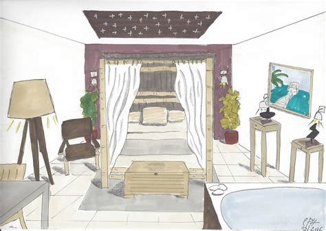 chambre en perspective dessin awesome chambre en perspective dessin pictures