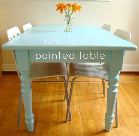 painted kitchen table ideas family feedbag a painted table