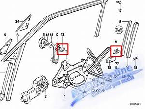 Auto Pro  Window Regulator Repair Kit Bmw E36 E34 318i