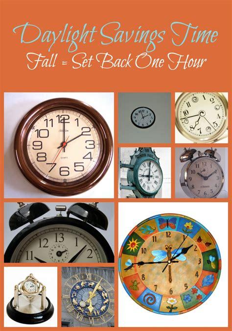 Day Light Saving Time Change by Time Change Fall Back Simply Sherryl