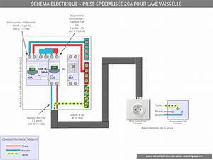 Brancher Un Lave Vaisselle : le sch ma lectrique des circuits sp cialis s la prise 20a ~ Dailycaller-alerts.com Idées de Décoration