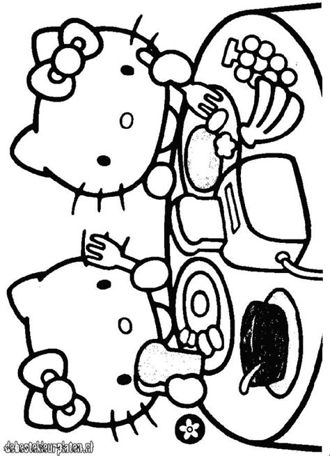 hellokitty  printable coloring pages