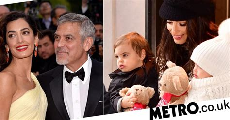 Find out how the couple plans to make their kids' birthdays special. George Clooney and Amal Clooney's two-year-old daughter runs the house | Metro News