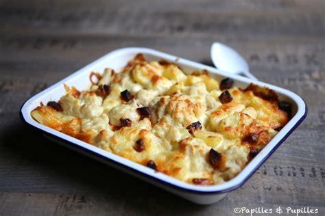 gratin de chou fleur pommes de terre et chorizo