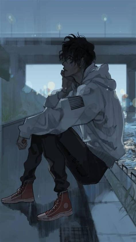 Aesthetic Anime Boy Wallpapers Wallpaper Cave