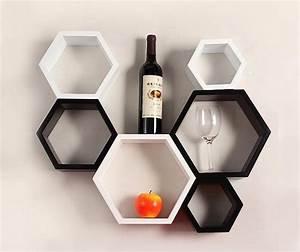 Etagere Cube Noir : 1001 id es tag res murales 77 mod les qui vont vous accrocher ~ Teatrodelosmanantiales.com Idées de Décoration