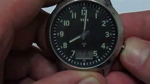 Radio Controlled Uhr Bedienungsanleitung : tcm radio controlled watch 3atm water resistant youtube ~ Watch28wear.com Haus und Dekorationen