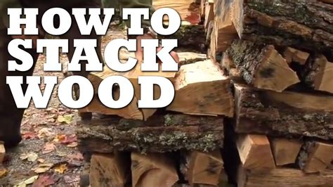 stack wood youtube