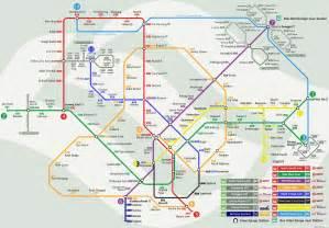Singapore Botanic Gardens Location by Sbs Transit And Smrt Mrt System Started Gt Gt Gt 7 November 1987