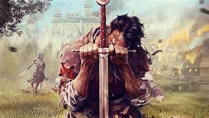 Kingdom Deliverance Come Ign Ps4 Peasant Staff