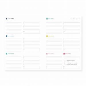 2016 Weekly Simplified Planner