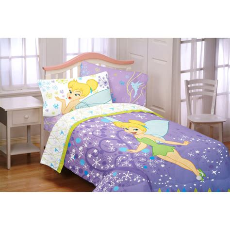 tinkerbell pixie power comforter toddler walmart
