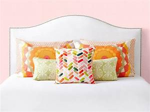 6 bedroom pillow arranging tricks to try hgtv With best place to get throw pillows