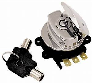 Harley Ignition Switch Softail Road King Fxdwg Flhr Rep